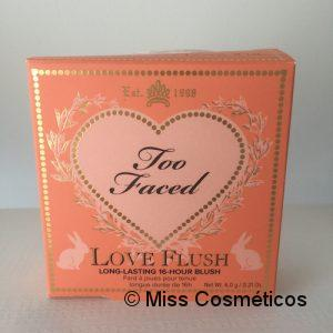 Too Faced Love Flush I Will Always Love You - packaging